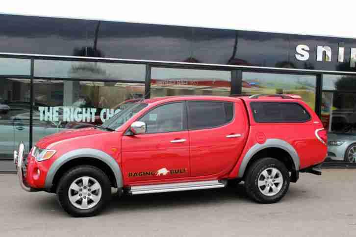 Mitsubishi 2007 57 L200 2 5 Di D Raging Bull 2 5 4x4