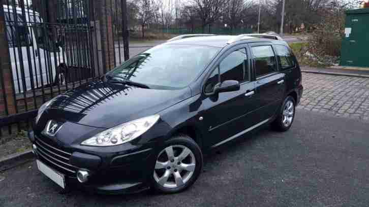2007 57 PEUGEOT 307 1.6 SW S HDI 5D 89 BHP DIESEL 1 PRIVATE OWNER 12 MONTHS MOT