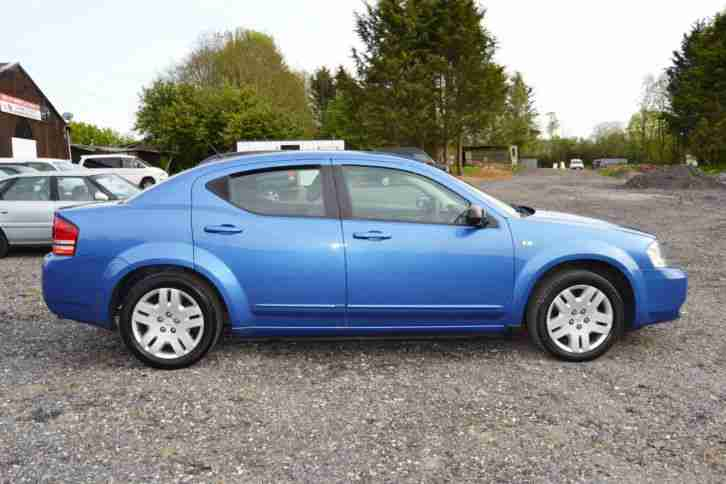 2007 57 PLATE DODGE AVENGER 2.0 CRD SE DIESEL 6 SPEED MANUAL LUXURY SALOON CAR