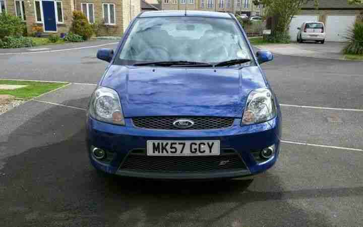 2007 57 Plate Ford Fiesta ST in Performance Blue