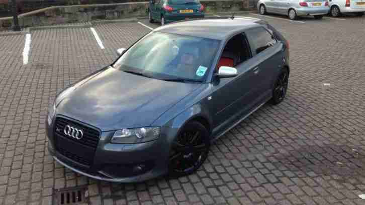 audi 2007 57 reg s3 quattro dolphin grey car for sale. Black Bedroom Furniture Sets. Home Design Ideas