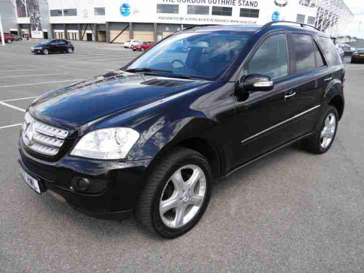 2007 57 reg mercedes ml 320 cdi sport auto metallic black alloy wheels. Black Bedroom Furniture Sets. Home Design Ideas