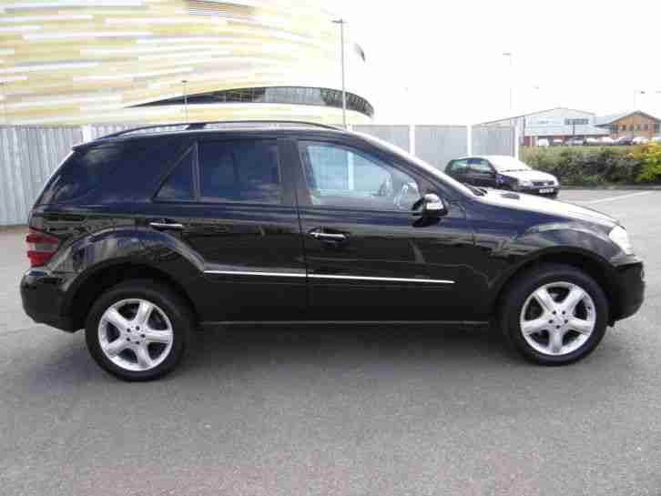 2007 57 reg mercedes ml 320 cdi sport auto metallic black alloy wheels. Black Bedroom Furniture Sets. Home Design Ideas