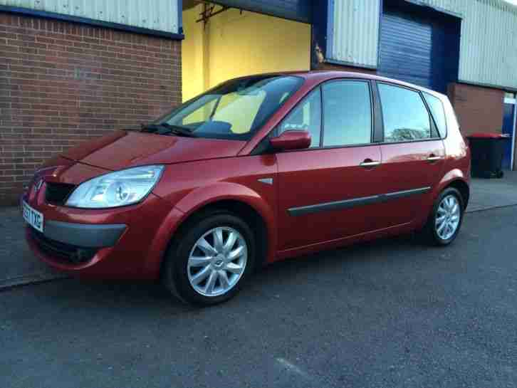 2007/57 RENAULT SCENIC 1.6 VVT DYNAMIQUE - ONE FORMER KEEPER - FULL RENAULT HIST