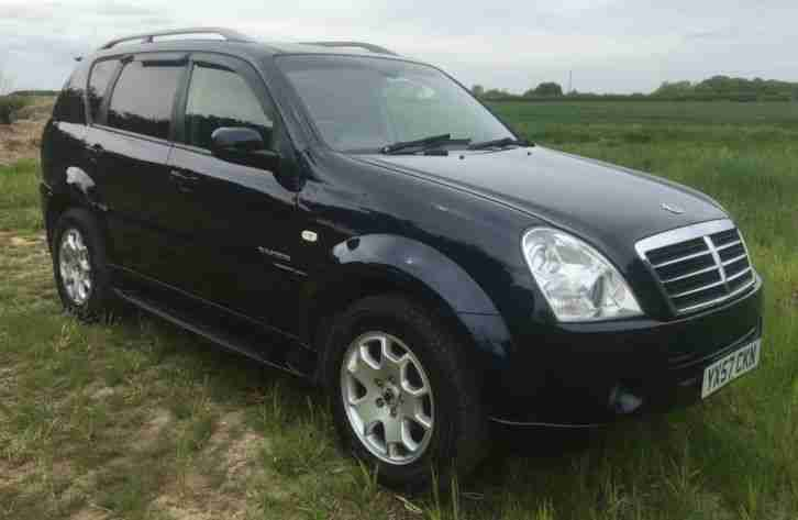 Ssangyong (57). Ssangyong car from United Kingdom