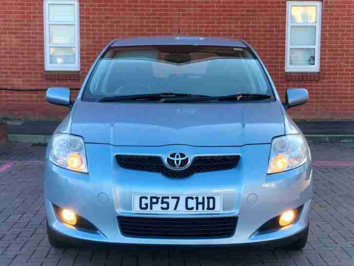 2007/57 Toyota Auris 1.6 VVT-i T3 5dr Full Service History 10 Stamps 2Keys AC CD