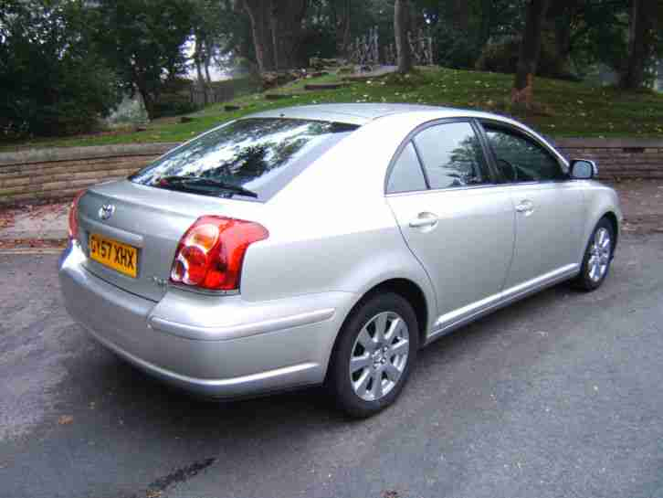 2007 57 Toyota Avensis 1.8 VVT-i TR 5DR SAT/NAV AIR/CON ALLOYS 86000 MLS CD