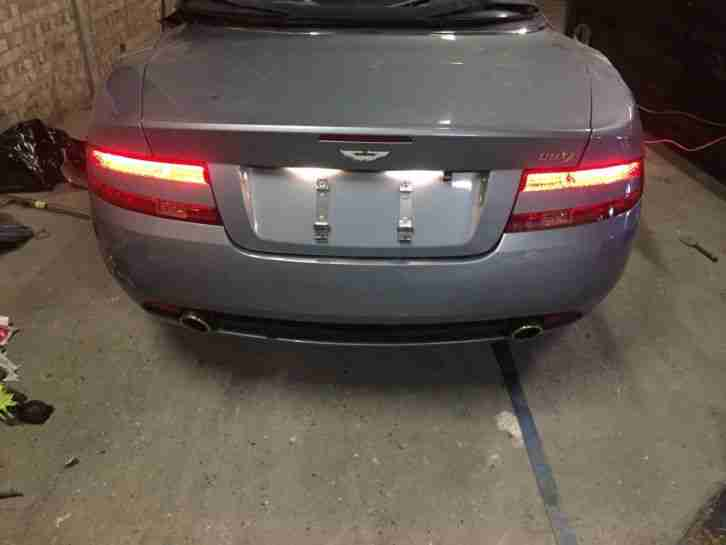 2007 ASTON MARTIN DB9 VOLANTE CONVERTIBLE SALVAGE DAMAGED UNRECORDED