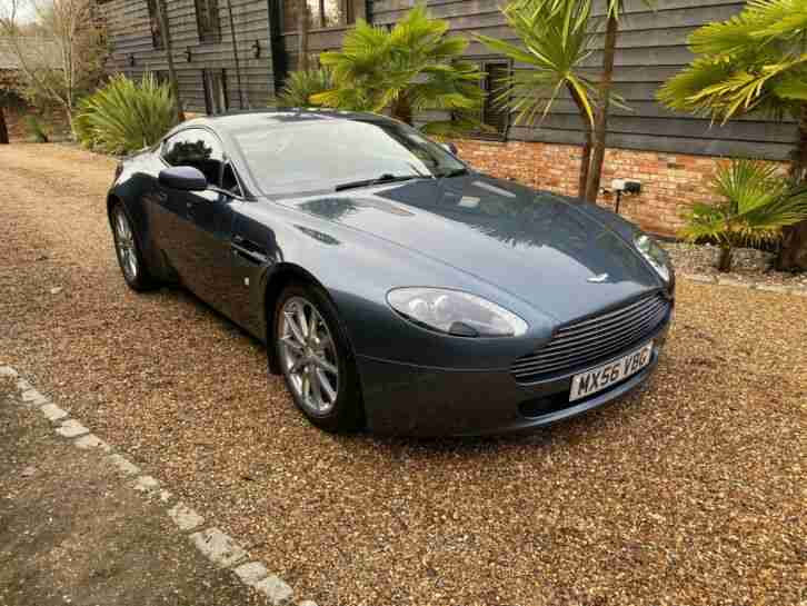 2007 V8 VANTAGE IN STEEL BLUE
