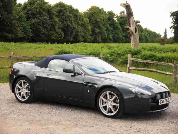 aston martin 2007 vantage v8 roadster convertible petrol car for sale. Black Bedroom Furniture Sets. Home Design Ideas