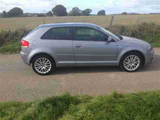 audi 2007 a3 2 0 tdi se 3 door diesel in grey good credit ok credit. Black Bedroom Furniture Sets. Home Design Ideas