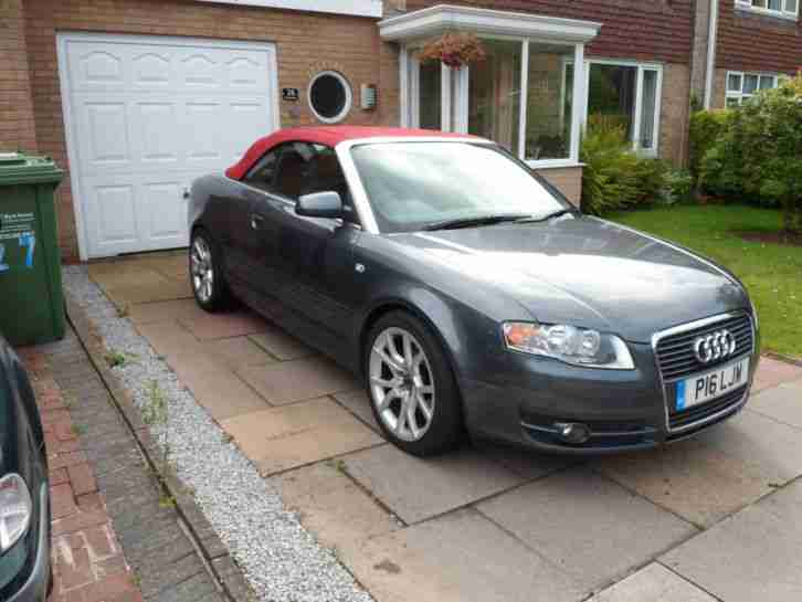 2007 audi a4 cabriolet convertible 1 8t petrol low mileage. Black Bedroom Furniture Sets. Home Design Ideas