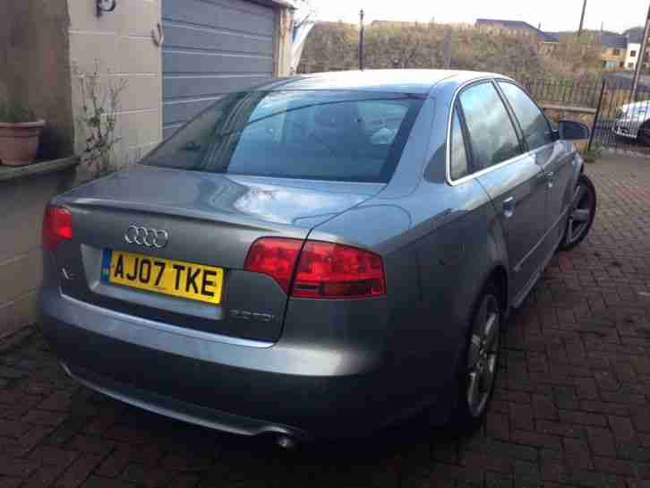 Audi A4 Car From United Kingdom
