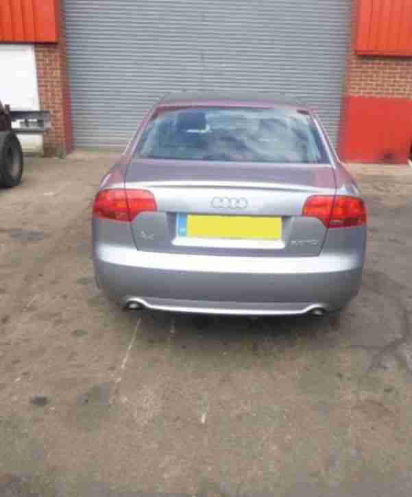 2007 AUDI A4 S LINE TDI 170 special edition FULLY LOADED