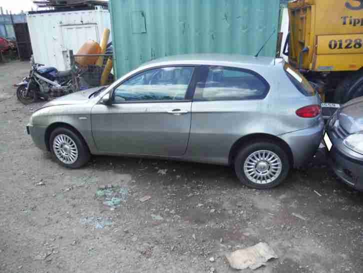2007 Alfa Romeo 147 1.6TS Collezione breaking for spares only, good cloth seats