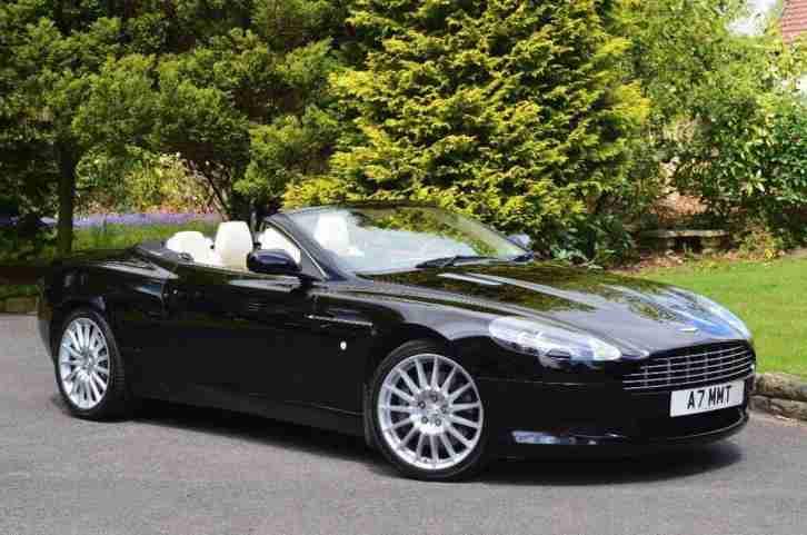 Aston Martin DB Volante Seq Dr Car For Sale - Aston martin 2007