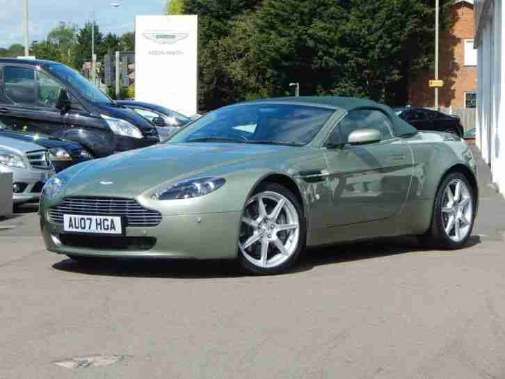 2007 Aston Martin V8 2dr Sportshift Automatic Petrol Roadster