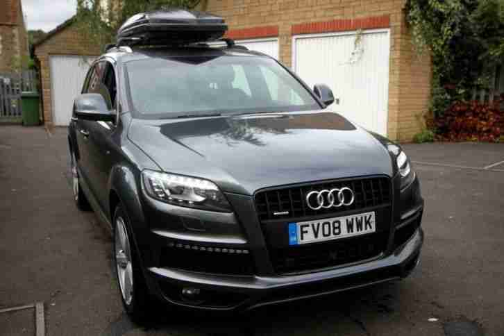 Audi Q7. Audi car from United Kingdom