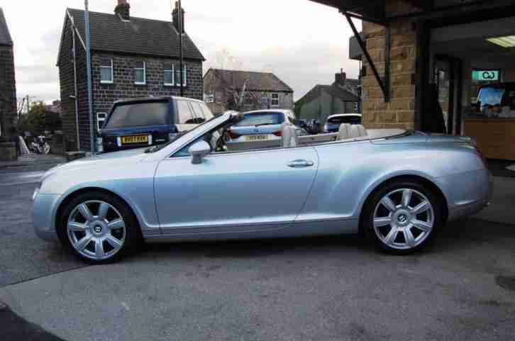 2007 BENTLEY CONTINENTAL 6.0 GTC 2D AUTO 550 BHP 4WD