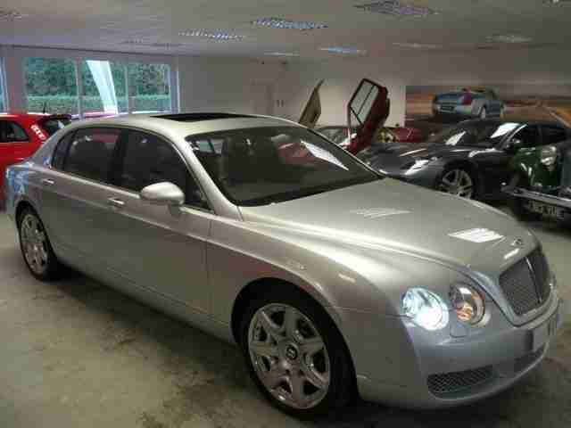 2007 BENTLEY CONTINENTAL FLYING SPUR 6.0 FLYING SPUR 5 SEATS 4D AUTO 550 BHP