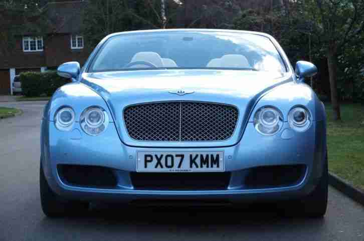 2007 BENTLEY CONTINENTAL GTC CONVERTIBLE PETROL