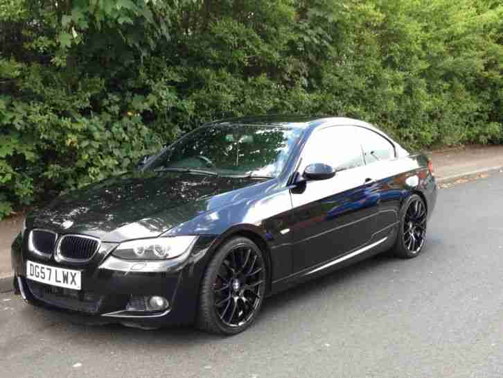 Bmw 2007 320d Coupe M Sport Black Low Mileage Car For Sale