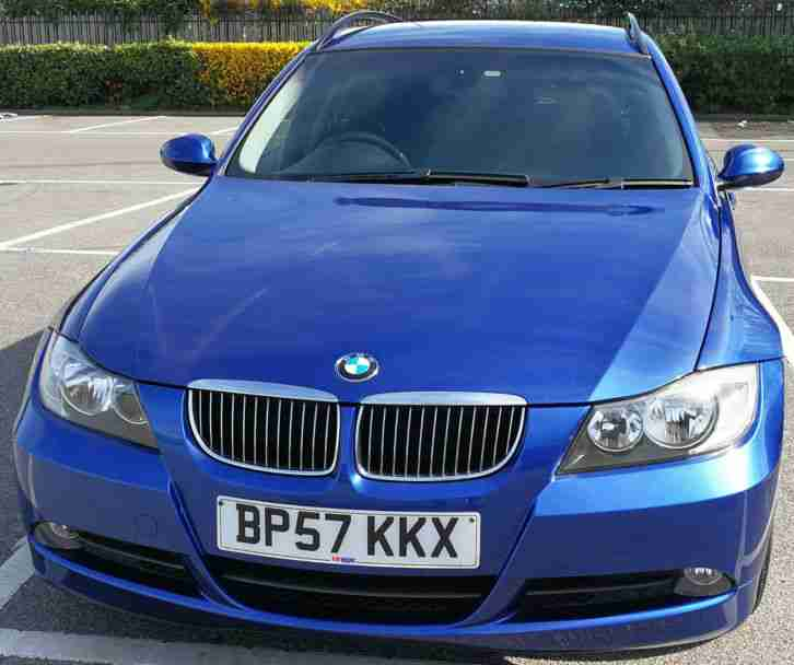 BMW 2007 325I SE TOURING AUTO BLUE. Car For Sale