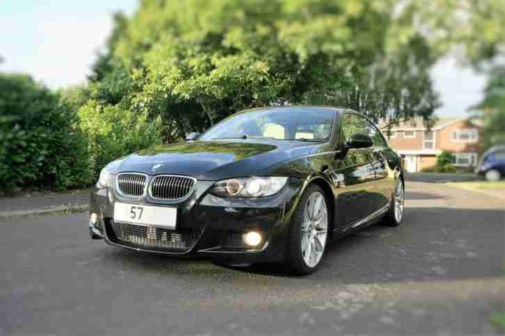 2007 335I M SPORT A BLACK 32000 MILES ONE