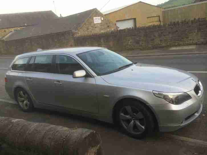 2007 BMW 530D TOURING SILVER