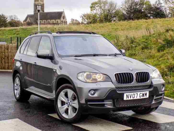 2007 BMW X5 3.0d SE WITH F S H+7SEAT+PANO ROOF+XENON+SATNAV ABSOLUTELY STUNNING