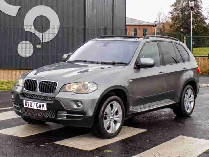 2007 BMW X5 3.0d SE WITH F/S/H+7SEAT+PANO/ROOF+XENON+SATNAV -ABSOLUTELY STUNNING