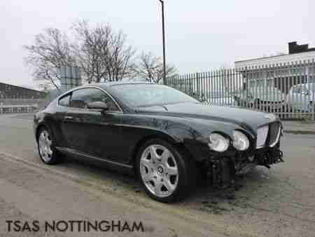 bentley 2007 continental gt mulliner 6 0 auto black. Black Bedroom Furniture Sets. Home Design Ideas