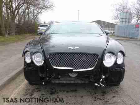 Repairing 2007 Bentley Continental Body Damage Bentley