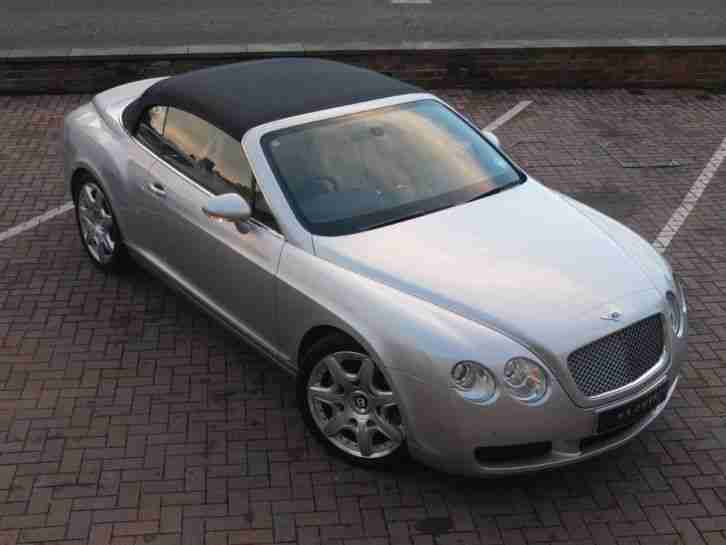 2007 Bentley Continental GTC Mulliner W12 Petrol Silver Automatic