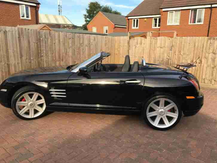 2007 CHRYSLER CROSSFIRE ROADSTER CONVERTIBLE BLACK GENUINE 28200 MILES