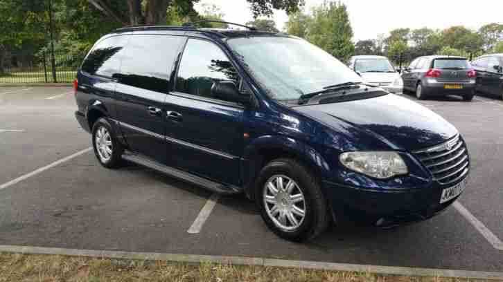 2007 GRAND VOYAGER LTD AUTO BLUE 2.8
