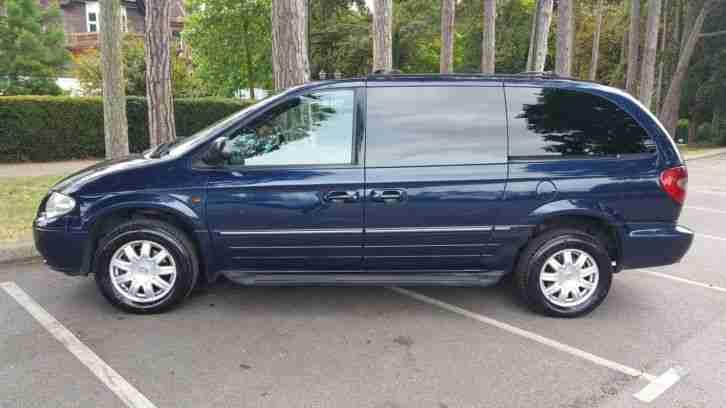 chrysler 2007 grand voyager ltd auto blue 2 8 diesel 7 seven seater. Black Bedroom Furniture Sets. Home Design Ideas