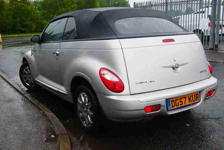 2007 CHRYSLER PT CRUISER LIMITED AUTO CONVERTIBLE LEATHER MOT