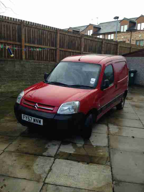 2007 BERLINGO 600 HDI X 75 RED