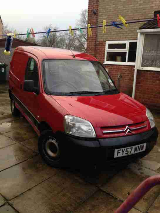 2007 CITROEN BERLINGO 600 HDI X 75 RED