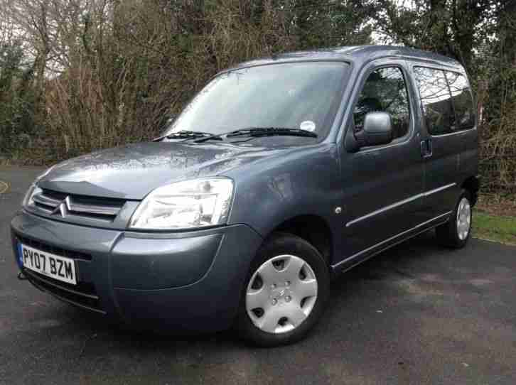 2007 CITROEN BERLINGO MULTISPACE FORTE 1.6 HDI DIESEL 99P START **NO RESERVE**