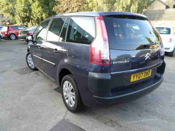 2007 CITROEN C4 PICASSO SX Hdi 7 Seater Turbo Diesel AUTOMATIC