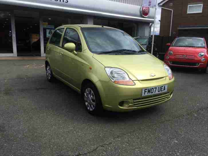 2007 Chevrolet Matiz SE Petrol green Manual