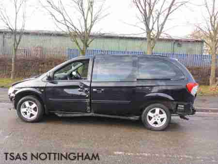 2007 Chrysler Grand Voyager 2.8 CRD Auto 7ST Executive Damaged Salvage