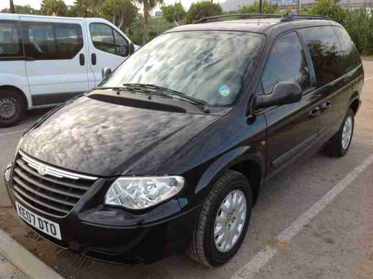 chrysler 2007 grand voyager 2 8crd diesel 7 seat lhd left hand drive p. Black Bedroom Furniture Sets. Home Design Ideas