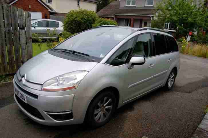 citroen 2007 c4 picasso 2 0 hdi exclusive 7 seater estate car for sale. Black Bedroom Furniture Sets. Home Design Ideas