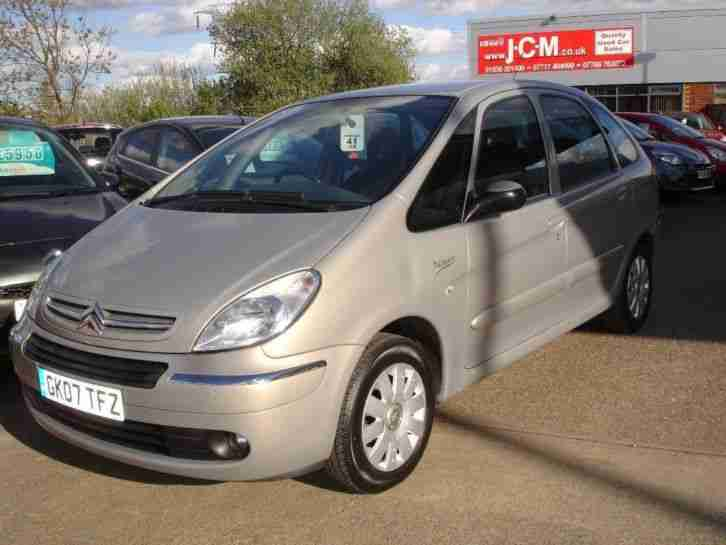 citroen 2007 xsara picasso 1 6 i 16v vtx 5dr car for sale. Black Bedroom Furniture Sets. Home Design Ideas