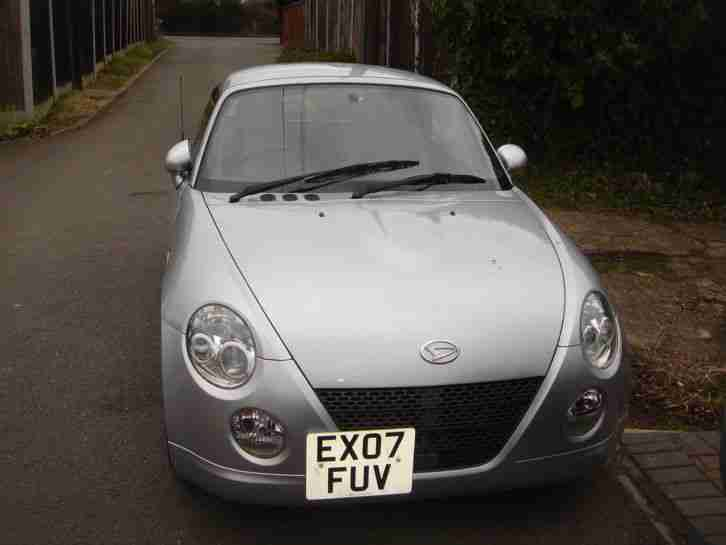 2007 COPEN CONVERTIBLE PETROL MANUAL