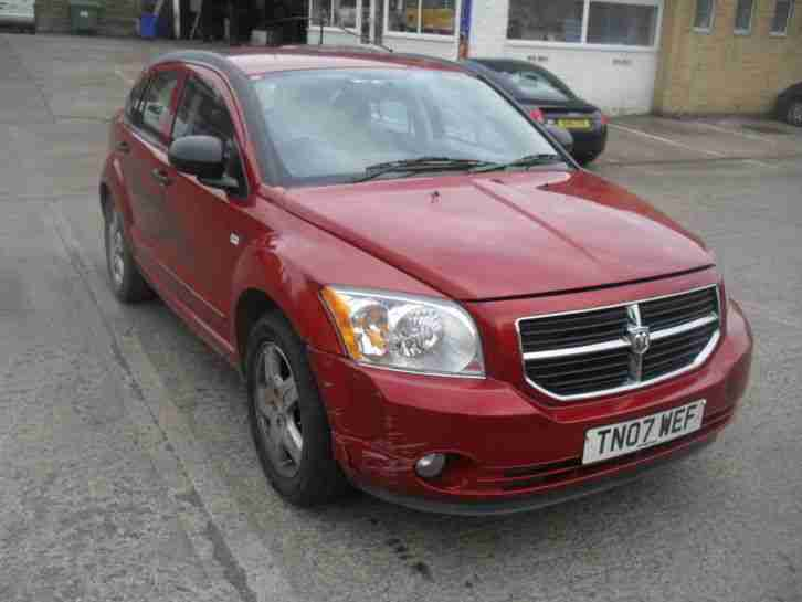2007 DODGE CALIBER SXT AUTOMATIC SPARES OR