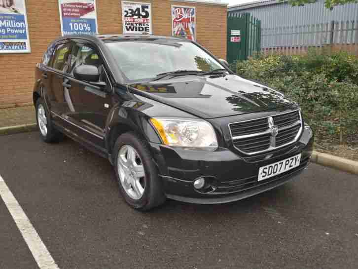 2007 DODGE (USA) CALIBER SXT A BLACK